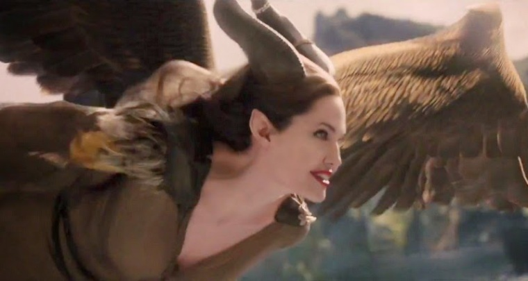 Maleficent - Winged Angelina Jolie