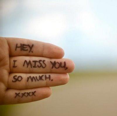 Missing Someone Yourhappyplaceblog