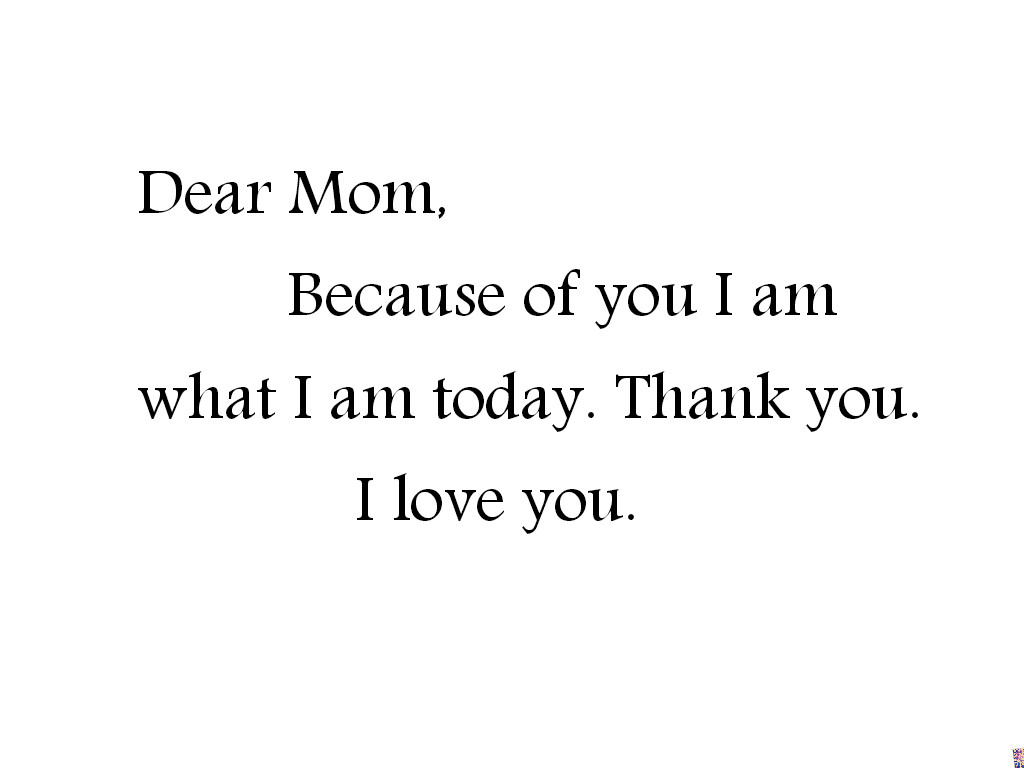 I Love You Mom And Dad Quotes Tumblr : Mothers Day quotes yourhappyplaceblog