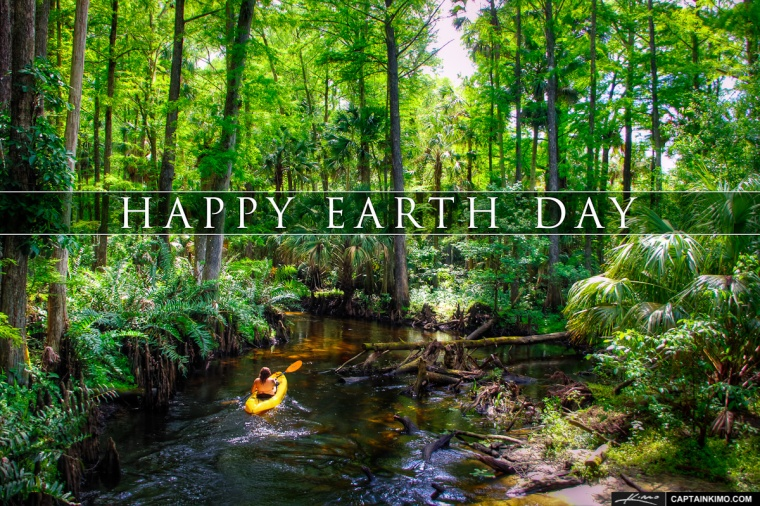 Happy Earth Day 2013 Kayaking the Loxahatchee River