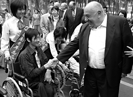 1-ken-behring-delivering-wheelchairs-in-china