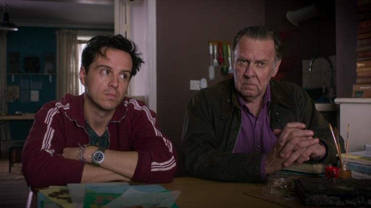 57_ TBF Vernon (Andrew Scott) and Alfie (Tom Wilkinson) in bella's kitchen